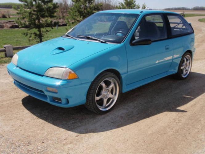 1990 Chevrolet Sprint Turbo Coupe
