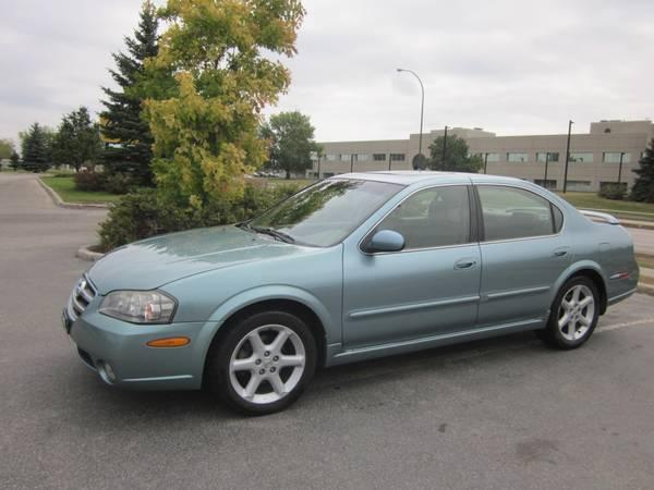 2002 Nissan Maxima SE - $5900