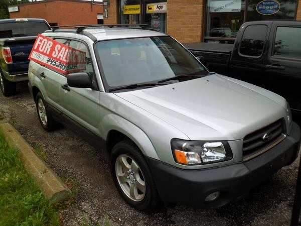 2004 Subaru Subaru Forester 25X - AWD - $4500