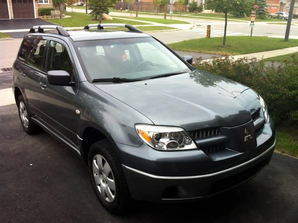 2005 Mitsubishi Outlander - ONLY 155,000km, A1, SAFETY DONE - $6500