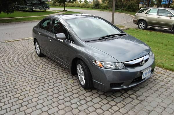 2011 Honda Civic SE sedan - manual - $15900