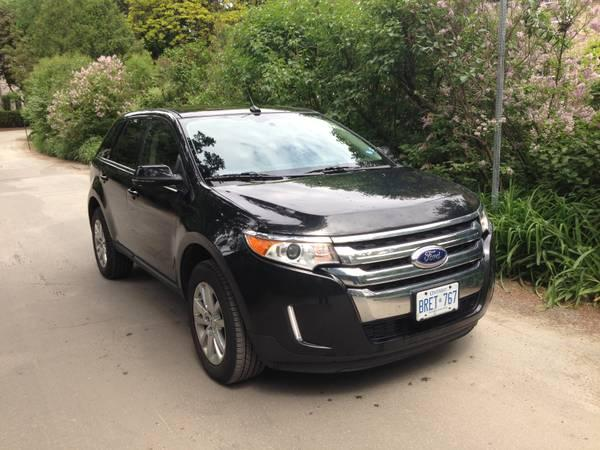 FORD EDGE 2013 blk/blk LOW PRICE!!!! - $30000