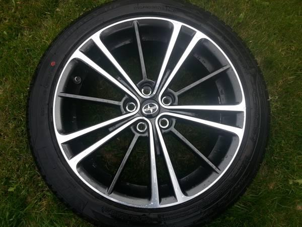 scion frs oem wheels and tires - $1300