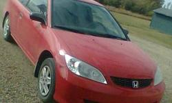 05 Honda Civic Coupe