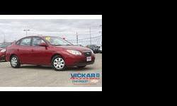 2009 Hyundai Elantra Red