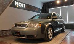 2002 Audi Allroad Green