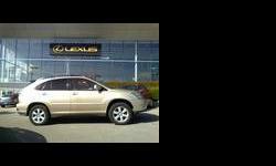 2004 Lexus RX Tan