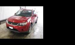 2009 Mitsubishi Outlander Red