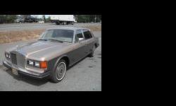 1986 Rolls-Royce Silver Seraph Tan