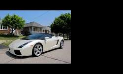 2007 Lamborghini Gallardo White