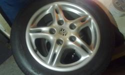 16 inch Porsche Boxster Wheels with Staggered tires