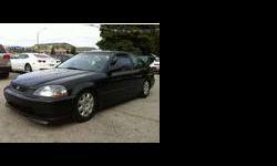 1997 Honda Civic Black
