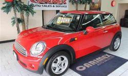 2009 Chili Red MINI Cooper