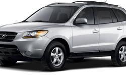 2008 Hyundai Santa Fe Limited, AWD, 3rd Row
