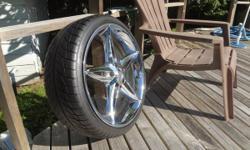 19'' CHROME FOOSE wheels/tires for VOLVO, JAGUAR, and more...