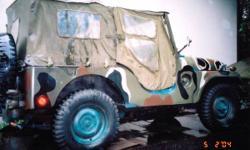 1967 Army Jeep