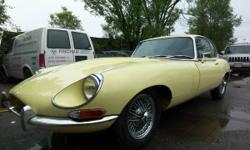 1968 Jaguar XKE 2+2 Coupe