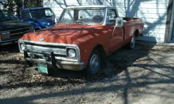1969 Chevrolet C10 RED Pickup Truck