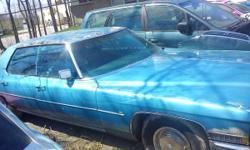 1972 Cadillac sedan deville - $3000