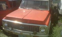 1972 Chevrolet HALF TON Pickup Truck