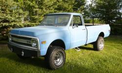 1972 Chevrolet K20 4x4 EFI Pickup Truck