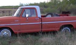 1972 Ford Pickup - Grampa's Truck