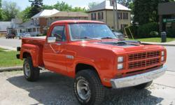 1979 Dodge Power Wagon 150 Pickup Truck