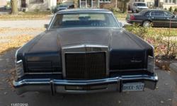 1979 Lincoln Continental Collector Series Sedan