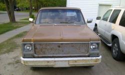 1980 Chevrolet C/K Pickup 1500 Pickup Truck