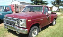 1980 Ford F-150 Pickup Truck