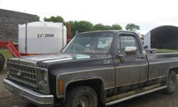 1980 GMC High Sierra 1500 Pickup Truck