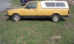 1980+1981 Volkswagen Rabbit Pickup Trucks CADDY