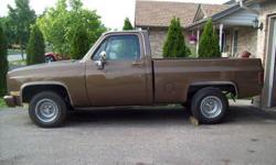 1981 Chevrolet C10 Pickup Truck