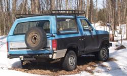 1981 Ford Bronco SUV