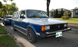 1982 Volkswagen Rabbit Pickup Truck LX Diesel