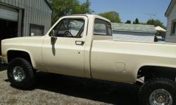 1983 Chevrolet C10 Pickup Truck