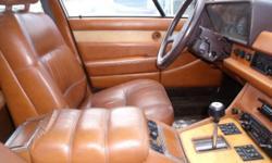 1983 Maserati Quattroporte with new motor