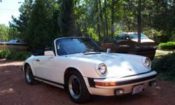 1983 Porsche 911SC Cab