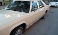 1984 Mercury Grand Marquis LS **Safetied until July22,2012**