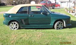 1984 Volkswagen Rabbit Convertible