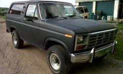 1985 Ford Bronco SUV