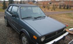 1985 Volkswagen Rabbit Convertible