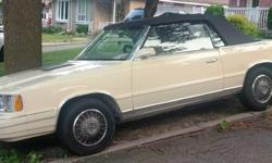 1986 Chrysler LeBaron Convertible