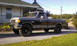 1987 Black Ford F150