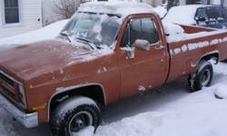 1987 Chevrolet C10 Pickup Truck