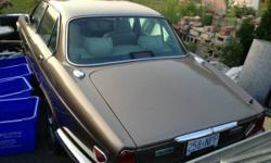 1987 Jaguar XJ6 parts car