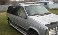 1987 Plymouth Voyager Minivan
