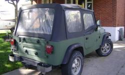 1987 YJ Jeep