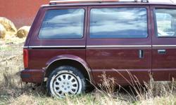 1989 Plymouth Voyager Minivan