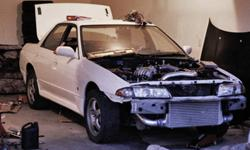 1990 Nissan Skyline GTS4 Rolling Chassis